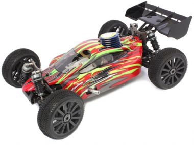 TOYANDMODELSTORE: Radio Control Nitro Cars gas petrol powered RC off road buggy